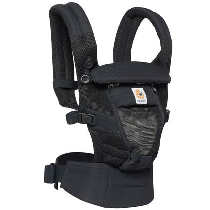 ★NEW Ergobaby Adapt Baby Carrier クールエア/ブラック