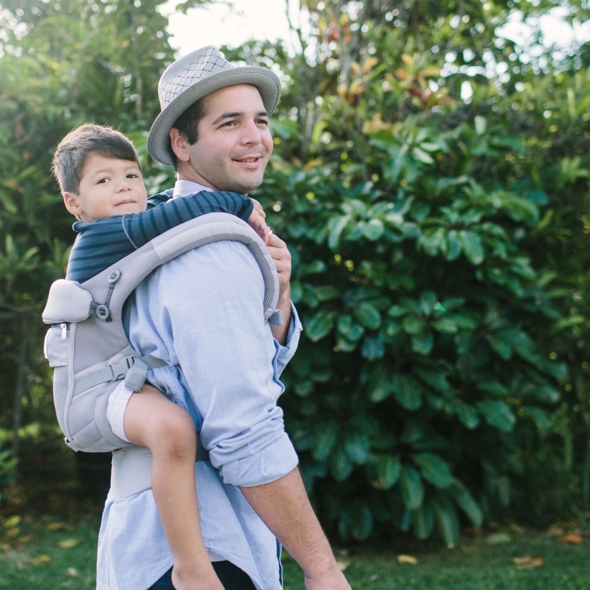 ★NEW Ergobaby Adapt Baby Carrier クールエア/パールグレー
