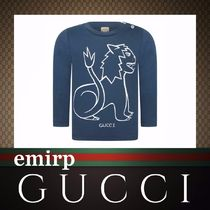 GUCCI(グッチ) トップス 新作GUCCI★BABY BOY★ロングスリーブカットソー[BLUE]
