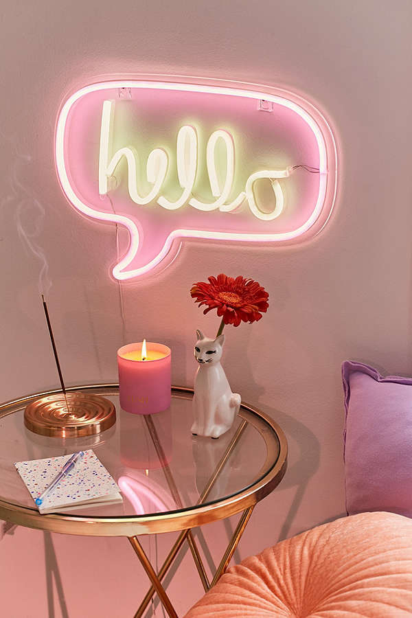 Urban Outfitters☆Hello Neon Sign☆