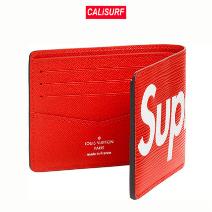 Louis Vuitton 折りたたみ財布 LOUIS VUITTON(ルイヴィトン)/SUPREME WALLET/red