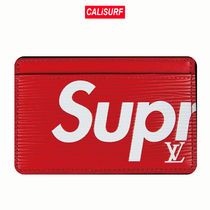 LOUIS VUITTON(ルイヴィトン)/SUPREME CARD HOLDER/red
