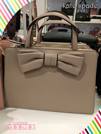 2Wayリボンバックkate spade★rosewood place lise ★ベージュ