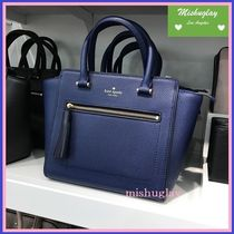 【kate spade】可愛いタッセル付♪2way small allyn★初秋色 紺