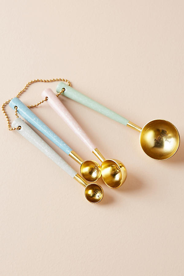 18AW☆最安値&関送込【Anthro】Bone & Brass Measuring Spoons
