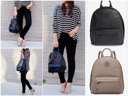 Tory Burch バックパック・リュック SALE!!【TORY BURCH】Leather Backpack