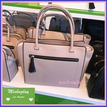 【kate spade】可愛いタッセル付♪A4収納トートallyn★初秋新色