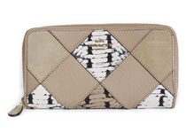COACH Snake Patchwork Accordion Zip F57591