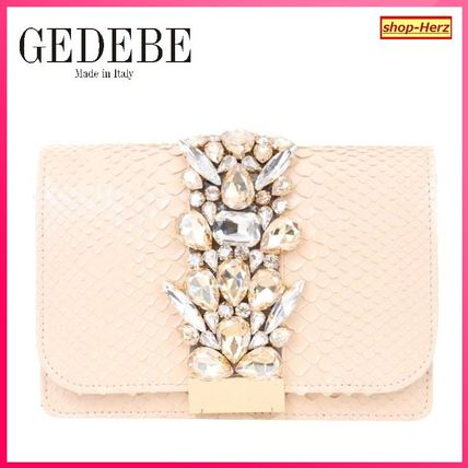 ★GEDEBE★ licky Python Leather ポシェットバッグ 関税込