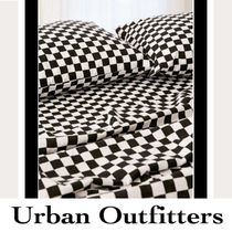 Urban Outfitters(アーバンアウトフィッターズ) ベッドカバー・リネン Urban Outfittersチェック柄シーツ×枕カバー3点セット