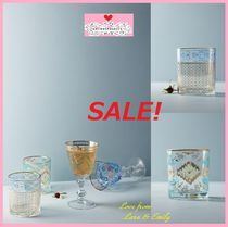 最終SALE☆店舗完売☆即納【Anthro】Be Our Guest DOF Glass 2点