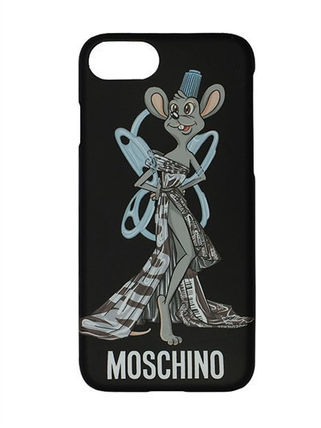 17-18AW送関込★MOSCHINO IPHONE 7 COVER