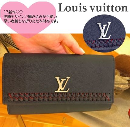 フェミニン〓Louis Vuitton LOCKME II WALLET長財布