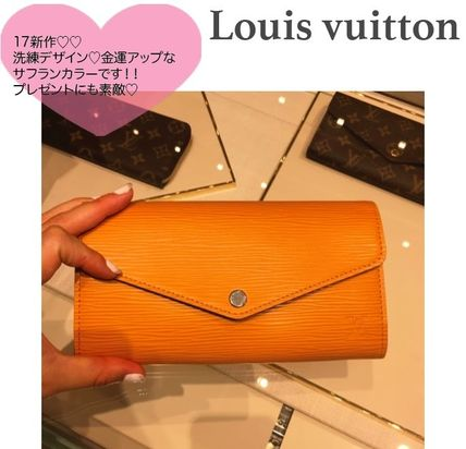金運UPフェミニン〓Louis Vuitton SARAH WALLET長財布