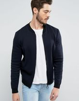 ASOS(エイソス) アウターその他 関税・送料込み ASOS Knitted Bomber with Oversized Zip 先取り