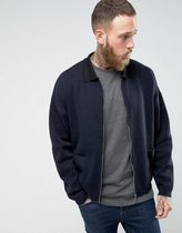 ASOS(エイソス) アウターその他 関税・送料込み ASOS Knitted Jacket with Contrast Coll 先取り