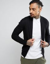 ASOS(エイソス) アウターその他 関税・送料込み ASOS Cotton Track Jacket in Black 先取り