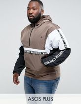 ASOS(エイソス) アウターその他 関税・送料込み ASOS PLUS Overhead Jacket With Cut And 先取り