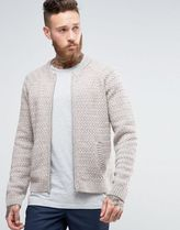 ASOS(エイソス) アウターその他 関税・送料込み ASOS Knitted Bomber Jacket In Beige 先取り