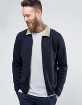 ASOS(エイソス) アウターその他 関税・送料込み ASOS Knitted Bomber with Borg Collar 先取り