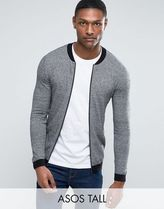 ASOS(エイソス) アウターその他 関税・送料込み ASOS TALL Knitted Cotton Bomber with C 先取り