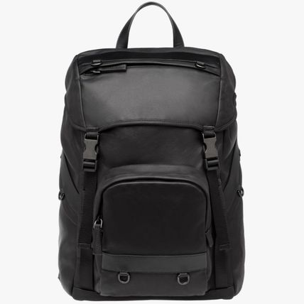 PRM028 CALF LEATHER BACKPACK