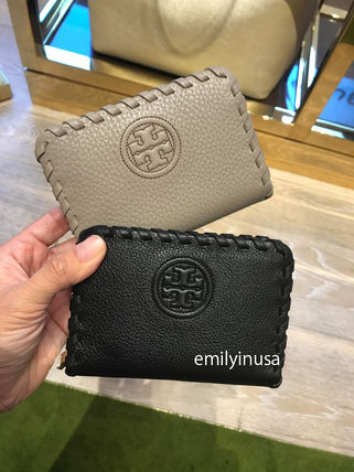 Tory Burch 財布・小物その他 即発 TORY BURCH★キーリング付き MARION ZIP COIN CASE