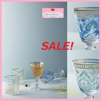 最終SALE☆数量限定☆即納【Anthro】Be Our Guest Wine Glass2点