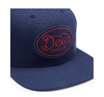 デウス★Deus Ex Machina★BLACKWOOD BASEBALL CAP ネイビー