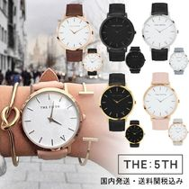 The Fifth Watches(ザ フィフス ウォッチ) アナログ腕時計 国内発送・送料関税込み☆The Fifth Watches☆NEW YORK☆2ベルト