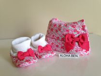 Kate Spade LAYETTE CAP & BOOTIE GIFT SET 即国内発送