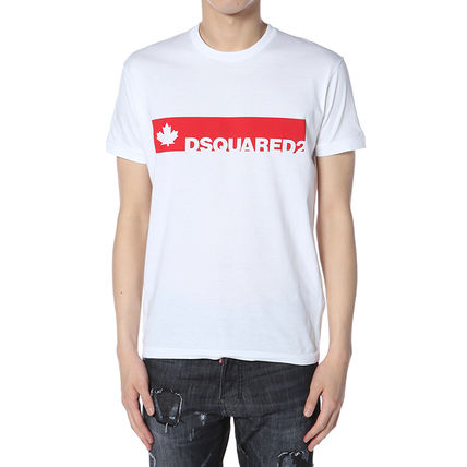 DSQUARED2 17AW ロゴプリント Tシャツ_WHITE