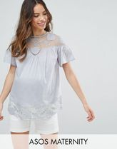 ASOS(エイソス) トップス 大人気!Maternity Embroidered Lace Insert  ASOS マタニティー
