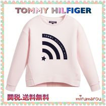 Tommy Hilfiger(トミーヒルフィガー) トップス 新作 TOMMY HILIFIGER KIDS★大人もOK!パールピンクスウェット