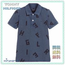 Tommy Hilfiger(トミーヒルフィガー) トップス 新作 TOMMY HILIFIGER KIDS★大人OK!アルファベットポロシャツ