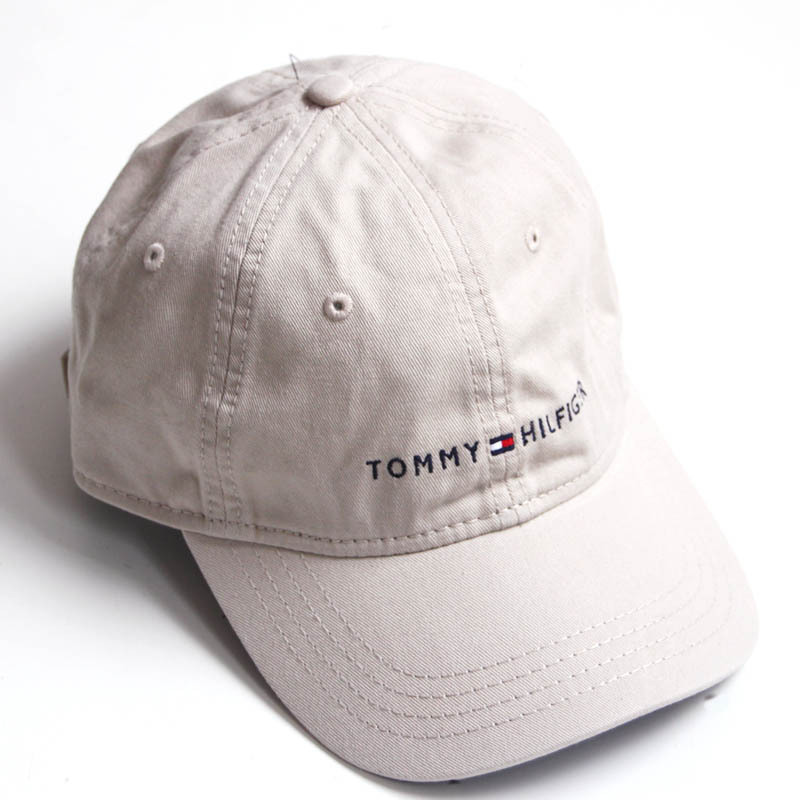 【Tommy Hilfiger】TOMMY ロゴ刺繍6panel キャップ