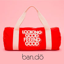 LA発☆Ban.do☆新作ジムバッグ☆LOOKING GOOD FEELING GOOD