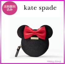 kate spade◆ミニーちゃんコインケース◆minnie mouse