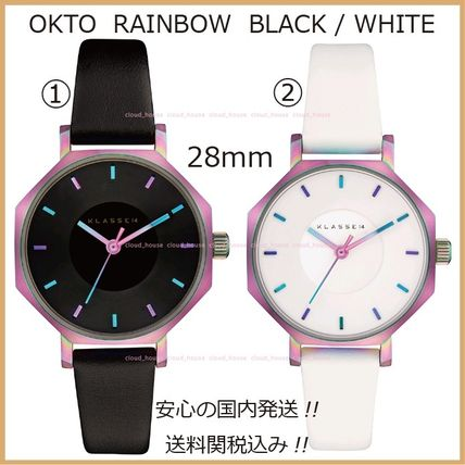 KLASSE14☆OKTO RAINBOW 28mm♪Black/White☆国内発送・送料税込
