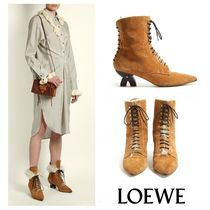 【GINGER掲載】17AW☆LOEWE☆レースアップブーツ