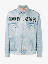 """MODERN"" Applique Printed Denim Jacket デニムジャケット"