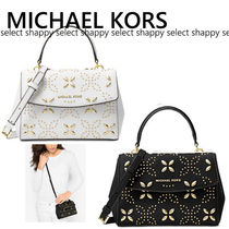 MICHAEL KORS★2wayお花が可愛い Ava Mini Crossbody 送料関税込