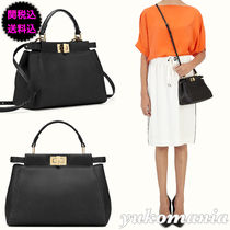 FENDI★人気 ミニ PEEKABOO MINI BLACK