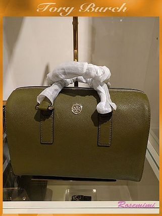 人気お勧め2wayバック!Tory Burch☆ROBINSON SATCHEL☆green