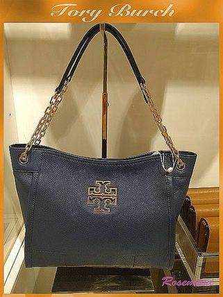 お洒落なロゴトートTory Burch☆BRITTEN MINI BAG☆HUDSON BAY
