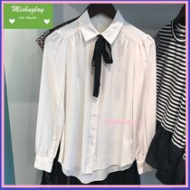 【kate spade】嬉しい再販★美シルエット bow tie blouse★