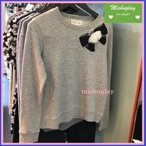 【kate spade】嬉しい再販★お花付♪ rosette bow sweatshirt★