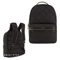 【関税送料込】MONCLER George Quilted Backpack black♪