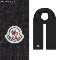 【関税送料込】MONCLER Wool Scarf grey♪