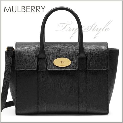 Mulberry ハンドバッグ 17-18AW★Mulberry ストラップ付き 2WAY Small New Bayswater